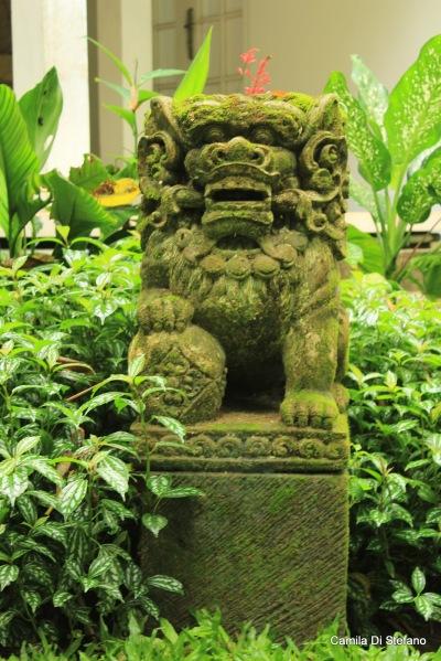 Balinese lion guardian