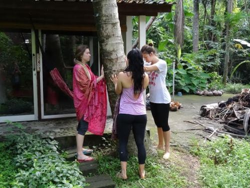 Coconut hugging