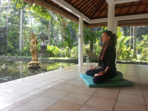 yoga at Jiwa Damai Bali